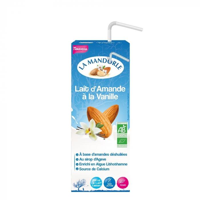 Bautura vegetala de migdale cu vanilie 200ml [0]