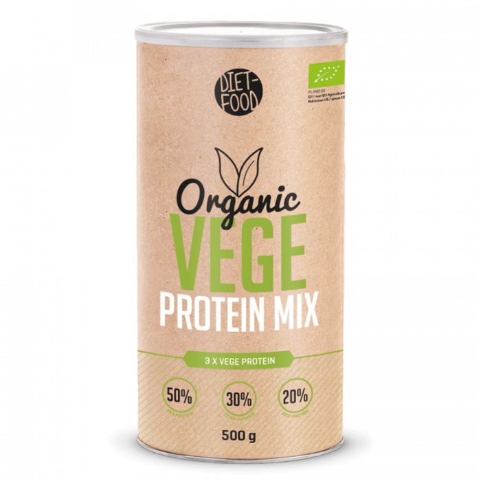 Bio Mix proteine vegane 500g 0