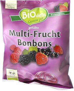 Bomboane cu fructe de padure 75 g 0