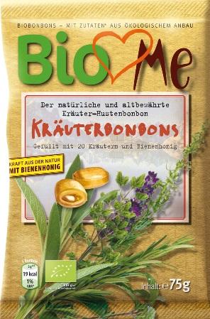Bomboane cu plante si miere 75 g 0