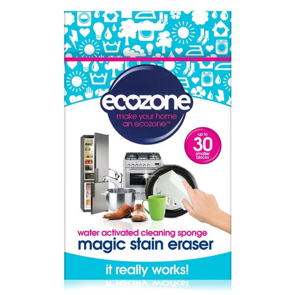 Burete Magic Stain universal pt curatarea suprafetelor, doar cu apa, Ecozone, 2 buc [0]