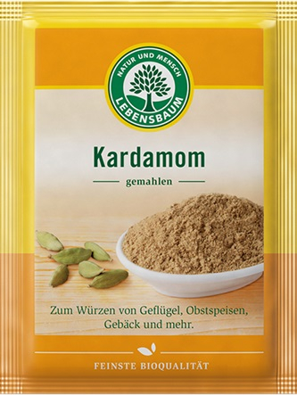 Cardamom ecologic macinat 10g 0