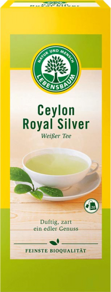 Ceai alb Ceylon Royal Silver 30g 0