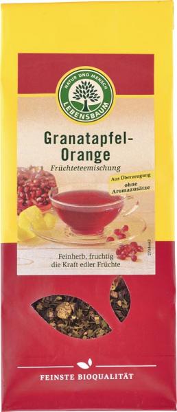 Ceai cu rodie si portocala ecologic 75g 0