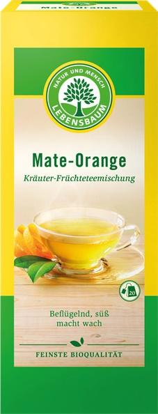 Ceai de Mate si portocala x20 plicuri 40 g 0