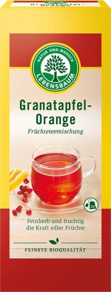 Ceai de rodie cu portocala bio 40g [0]
