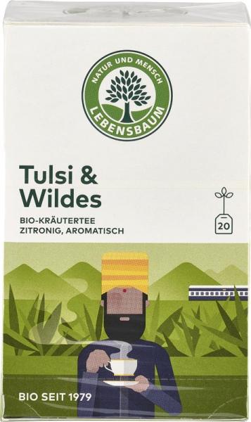 Ceai Tulsi & Salbatic x20 plicuri 40 g 0