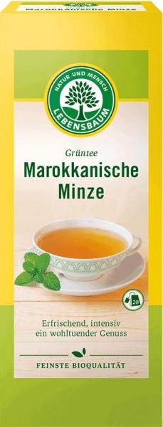 Ceai verde cu menta Marocana x20 plicuri 40 g 0
