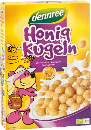 Cereale bio bilute cu miere 250g 0