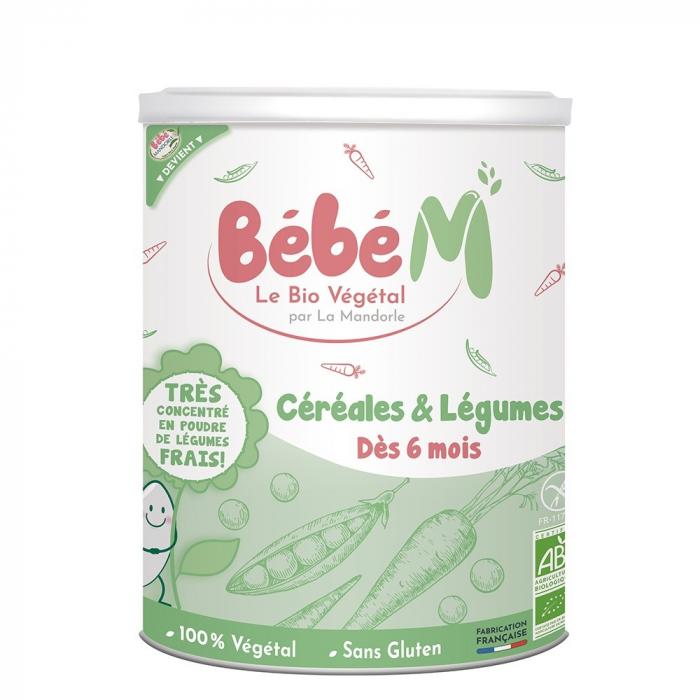 Cereale + legume pentru bebeluși - de la 6 luni 400g 0