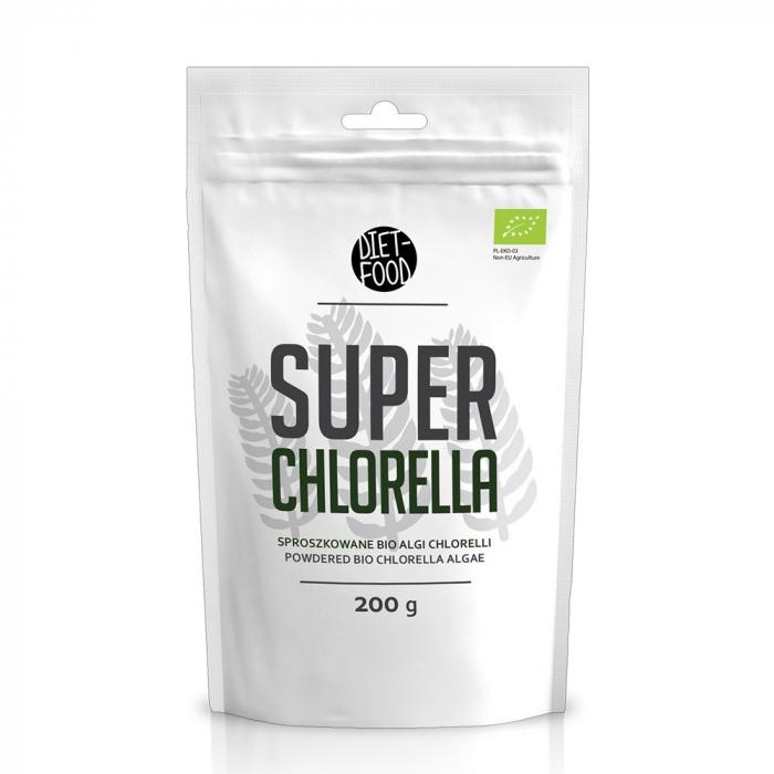 Chlorella - pulbere bio 200g [0]