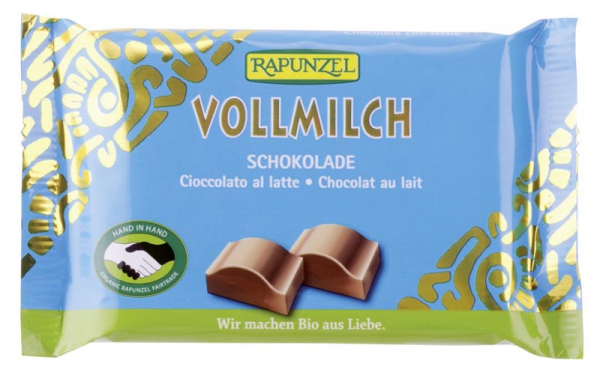 Ciocolata Cristalino cu lapte integral  100 g 0