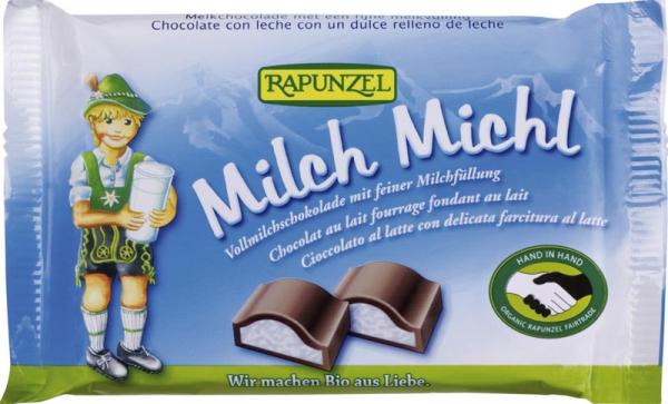 Ciocolata bio cu lapte si crema de lapte 100g [0]