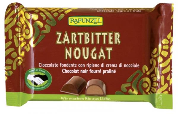 Ciocolata Bio Nougat Amaruie 100g 0