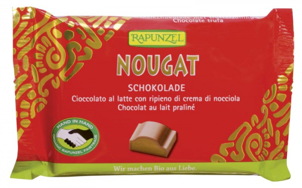 Ciocolata Bio Nougat Cristallino HIH  100g [0]