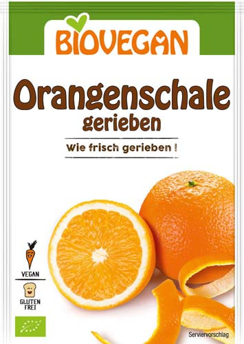 Coaja de portocala rasa bio 9g 0