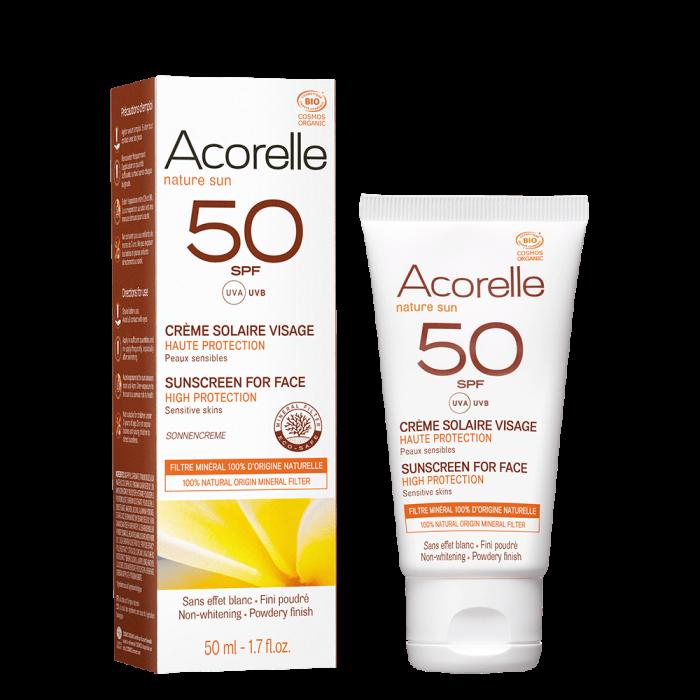 Crema bio protectie solara fata SPF 50 - 50ml 0