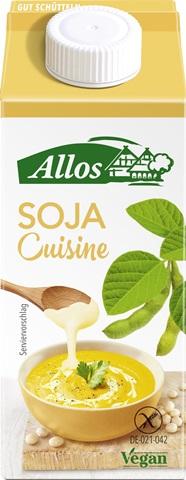Crema de soia lichida pentru gatit FARA GLUTEN 200 ml [0]