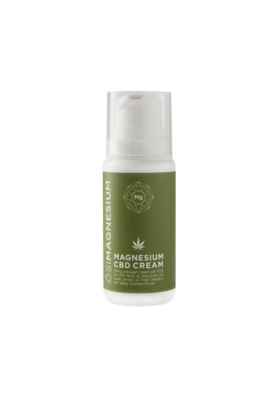 Crema pt ten, antioxidanta cu magneziu si CBD (cannabis) 100% bio, Osimagnesium,100ml [0]