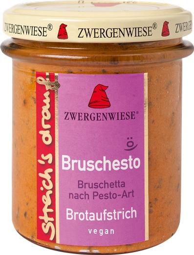 Crema tartinabila vegetala Bruschesto cu bruscheta si pesto 160g 0