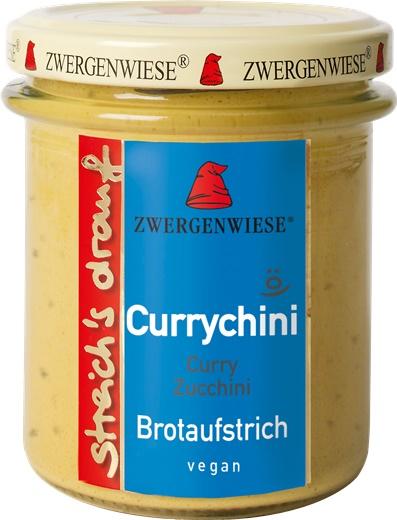 Crema tartinabila vegetala Currychini cu curry si zucchini FARA GLUTEN 160 g 0
