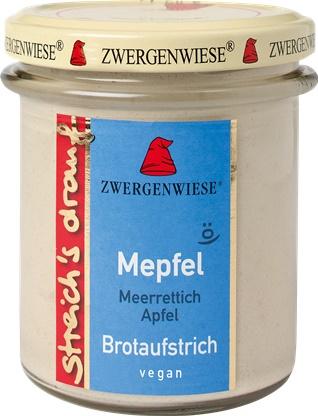 Crema tartinabila vegetala Mepfel cu hrean si mar FARA GLUTEN 160 g [0]