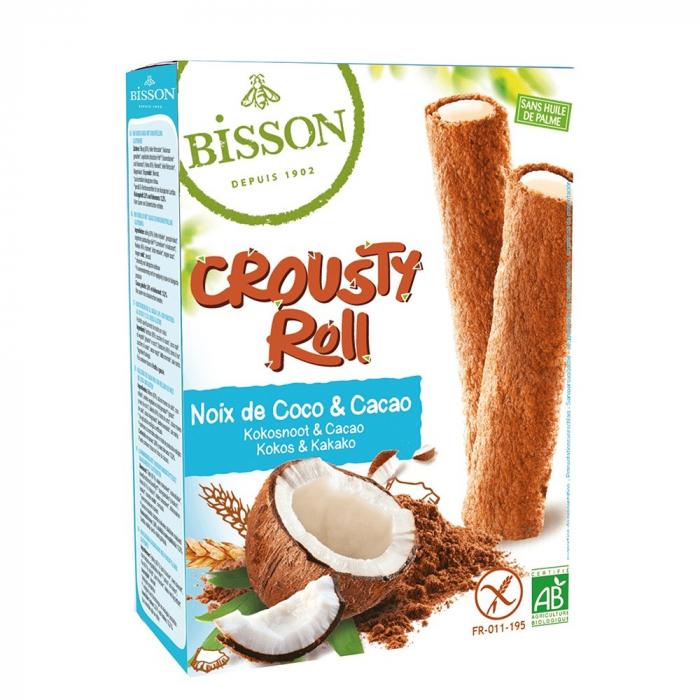 Crousty Roll cu cacao și cocos - fara gluten 125g [0]