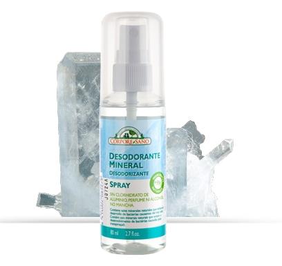 Deodorant mineral spray cu alaun Corpore Sano, 80 ml [0]