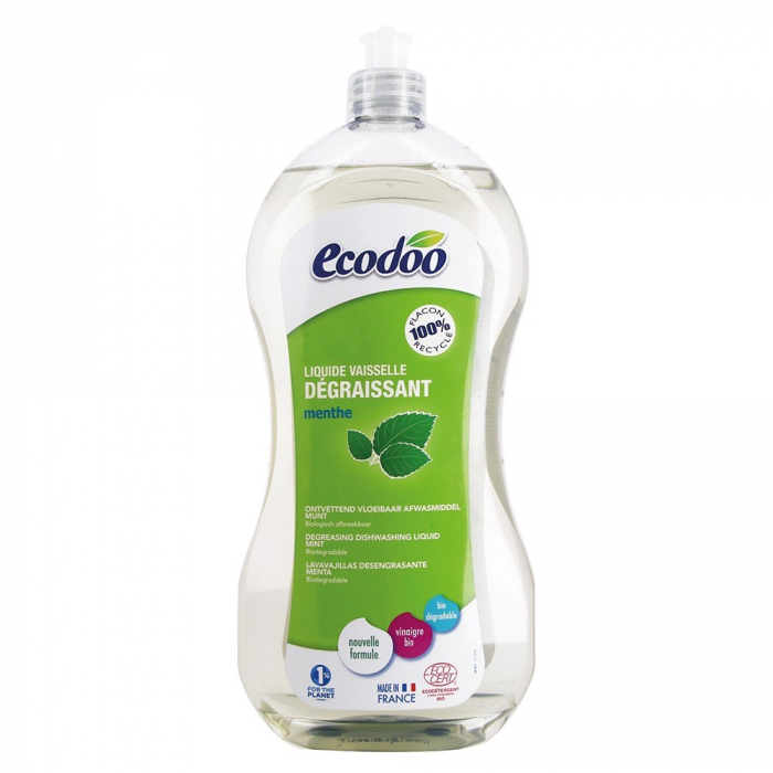 Detergent bio vase ultradegresant cu otet si menta 1L [0]