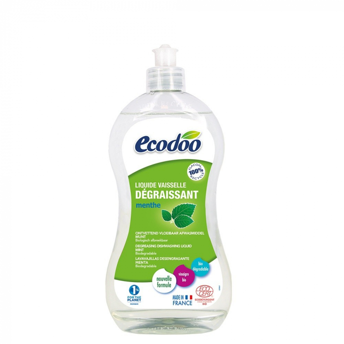 Detergent bio vase ultradegresant cu otet si menta 500ml [0]