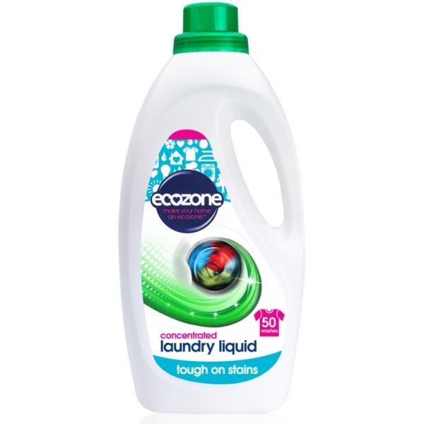 Detergent concentrat pt. rufe, Ecozone, aroma Fresh, 50 spalari, 2 L [0]