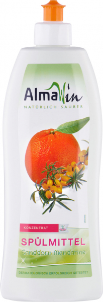 Detergent de vase concentrat cu catina si mandarine eco 500ml 0