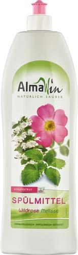 Detergent de vase cu trandafir salbatic si melisa 1 l 0