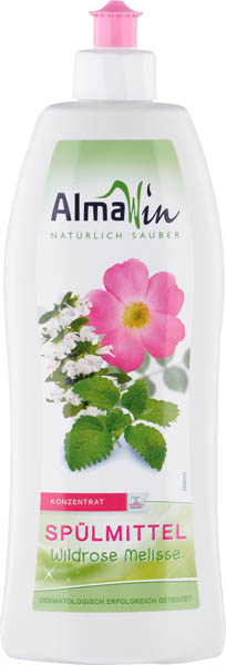 Detergent de vase cu trandafir salbatic si melisa 500 ml [0]