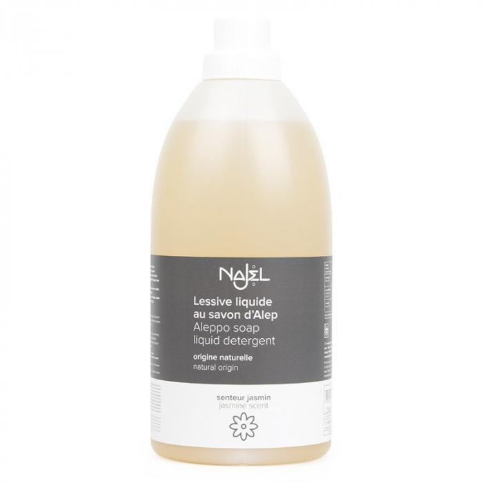 Detergent lichid cu sapun de ALEP cu aroma de iasomie 2L 0