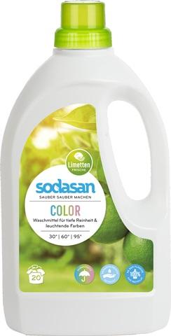 Detergent lichid pentru rufe colorate 1.5L 0
