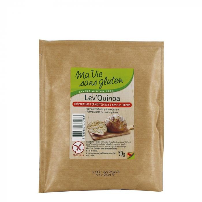 Drojdie maia de quinoa fara gluten 50g [0]