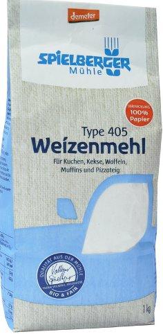 Faina de grau alba TIP 405 Demeter 1kg 0