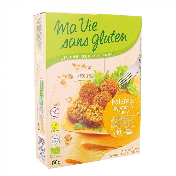 Falafel cu legume si curry - fara gluten 150g [0]