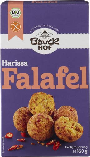 Falafel Harissa cu ardei si chili 160 g 0