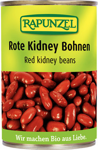 Fasole Kidney rosie in doza  400 g 0