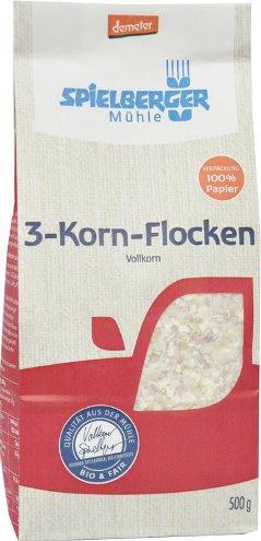 Fulgi din 3 cereale integrale 500 g [0]