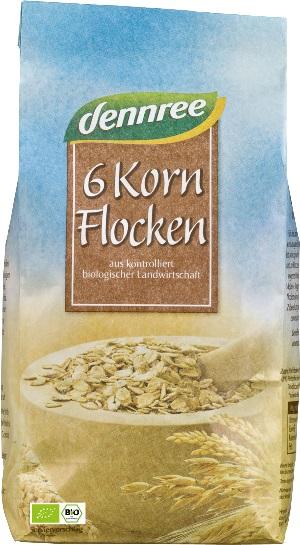 Fulgi din 6 cereale  500 g 0