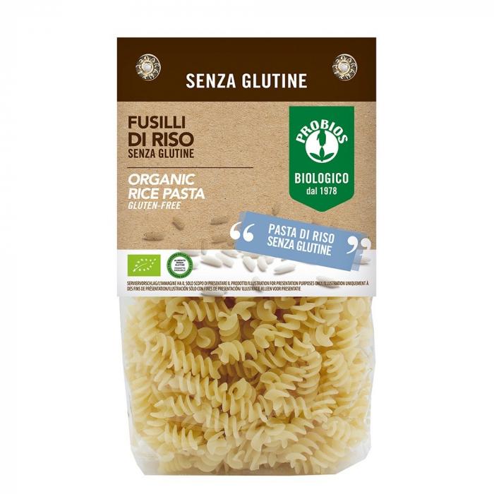 Fusilli de orez - fara gluten 400g 0