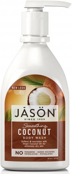 Gel de dus cu ulei de cocos Jason, 887 ml 0
