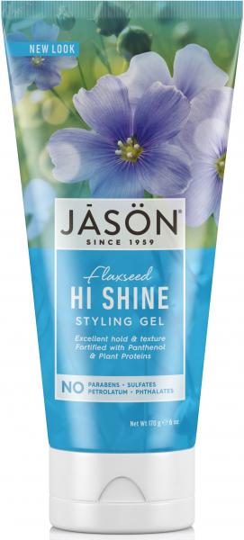 Gel natural pentru par Shine, 180 g, Jason 0