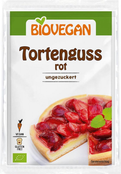 Gelatina vegana rosie FARA GLUTEN 2x7 g 0
