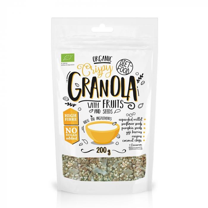 Granola bio cu fructe 200g [0]