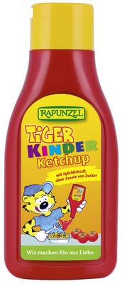 Ketchup de tomate Tiger pentru Copii Indulcit cu nectar de mere 500 ml 0