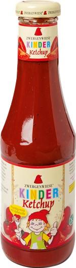 Ketchup pentru copii cu indulcitor din mere FARA GLUTEN 560 g 0
